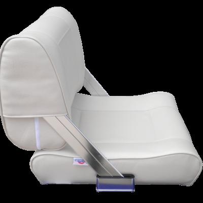 allpa Stuurstoel model Athene Flip-Back  wit