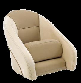 allpa Stuurstoel model Romeo Flip-Up  crème/crème