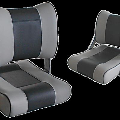 allpa Stuurstoel model Twin  grijs/donkergrijs
