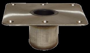 allpa Taper-Lock serie  power-rise sit down inbouw voet 9 (229mm)  rond