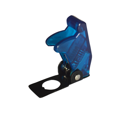 allpa Veiligheidskap voor wipschakelaar blauw