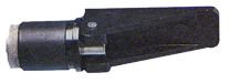 allpa Verstelbare knelplug  Ø22-27mm  zwart