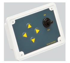 allpa Vervangings controlepaneel  12V  122x92x7mm  inbouwdiepte 40mm inclusief stekker
