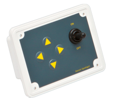 allpa Vervangings controlepaneel  24V  122x92x7mm  inbouwdiepte 40mm inclusief stekker