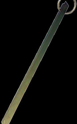 allpa Verzinkt-stalen meerpen met ring  T-Profiel  L=500mm