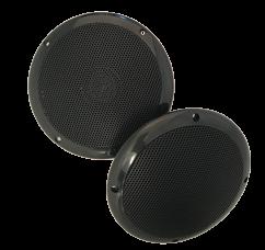 allpa Waterbestendige luidsprekerset  60W  2-weg  gatmaat Ø120mm  zwart
