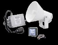 allpa Waterdichte (IP67) luidsprekerinstallatie 12V met RVS steun met keur