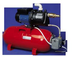 allpa Waterdruksysteem AMFA 990  24V/370W  52l/min (bij 1 2bar)  stalen tank 24l