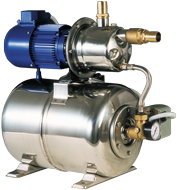 allpa Waterdruksysteem INOX 950