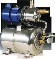 allpa Waterdruksysteem INOX 950  24V/370W  52l/min (bij 1 2bar)  RVS tank 24l