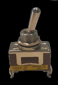 allpa Wipschakelaar 10A 2-posities A=28mm B=14mm C=18mm