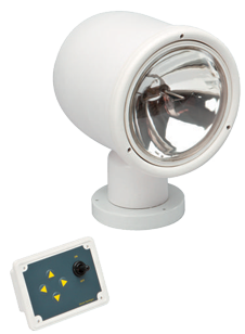 allpa Xenon Zoeklicht  elektrisch bediend met controle paneel  24V / 55W