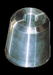 allpa Zinkanode voor dopmoer voor schroefas Ø45mm