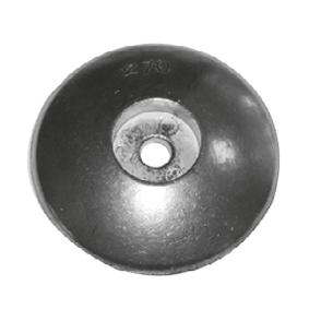 allpa Zinken ronde roerblad-anode Ø50mm