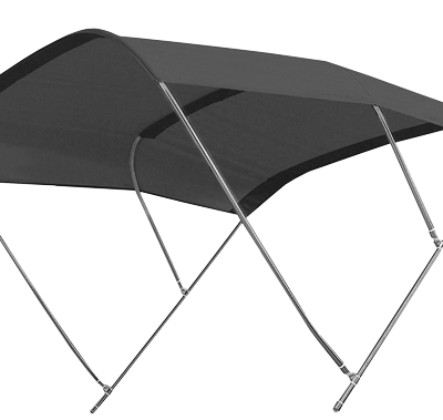 allpa zonnetent model Biminox  230x235x145cm  zwart; RVS-Beugels