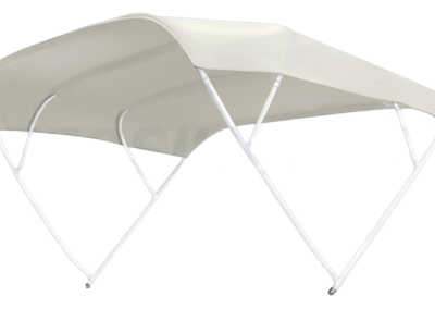 allpa zonnetent model Sixty  wit  200x255x140cm; aluminium beugels