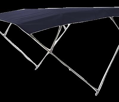 allpa zonnetent model Wilma  blauw  255x255x140cm  aluminium beugels